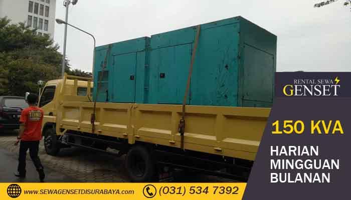 Harga Terbaru Sewa Genset 150 KVA Surabaya 2019