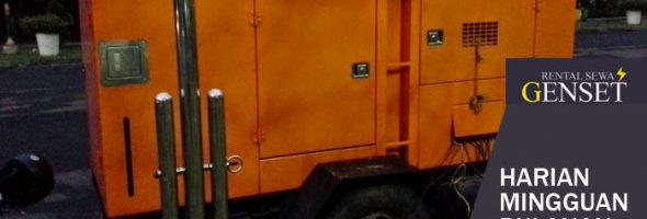 Sewa Genset Diesel Portable Harian